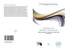 Sibelius (Software)的封面