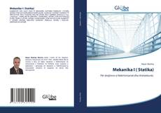 Capa do livro de Mekanika I ( Statika)