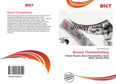 Borítókép a  Bessie Thomashefsky - hoz