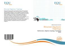 Bookcover of Directed Algebraic Topology