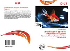 Bookcover of International Species Information System