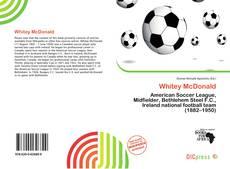 Capa do livro de Whitey McDonald