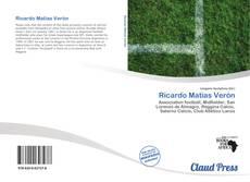 Buchcover von Ricardo Matias Verón