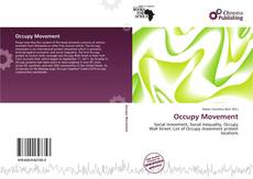 Bookcover of Occupy Movement
