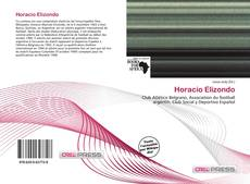 Bookcover of Horacio Elizondo