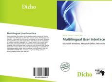 Buchcover von Multilingual User Interface