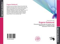Portada del libro de Eugene Galeković