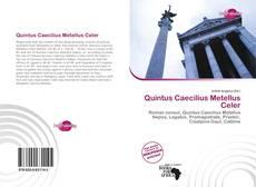 Buchcover von Quintus Caecilius Metellus Celer