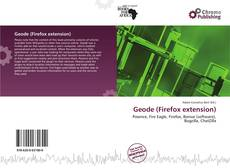 Bookcover of Geode (Firefox extension)