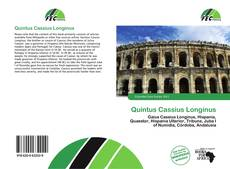 Portada del libro de Quintus Cassius Longinus
