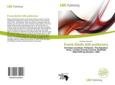 Bookcover of Frank Smith (UK politician)