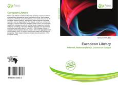 Bookcover of European Library