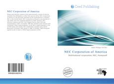Bookcover of NEC Corporation of America