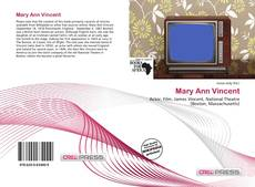 Bookcover of Mary Ann Vincent