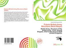 Buchcover von Future British Army Structure (Next Steps)