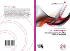Bookcover of X1 Technologies