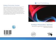 Bookcover of Purbaya Polytechnic Institute