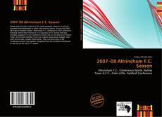 Обложка 2007–08 Altrincham F.C. Season
