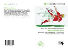 Bookcover of Matthew Osman