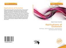 Bookcover of Applications of Evolution
