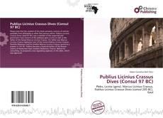 Bookcover of Publius Licinius Crassus Dives (Consul 97 BC)