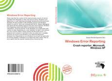 Capa do livro de Windows Error Reporting
