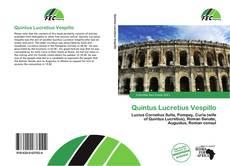 Buchcover von Quintus Lucretius Vespillo
