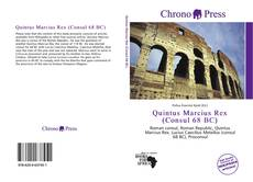 Bookcover of Quintus Marcius Rex (Consul 68 BC)