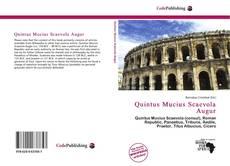 Buchcover von Quintus Mucius Scaevola Augur