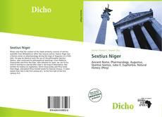Bookcover of Sextius Niger