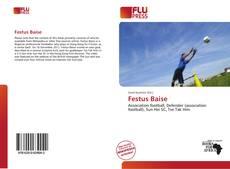 Capa do livro de Festus Baise