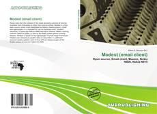 Capa do livro de Modest (email client)
