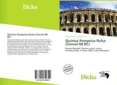 Bookcover of Quintus Pompeius Rufus (Consul 88 BC)