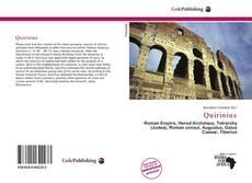 Bookcover of Quirinius