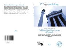 Обложка Publius Rutilius Lupus (Consul)