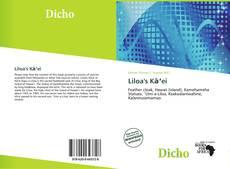 Capa do livro de Liloa's Kāʻei