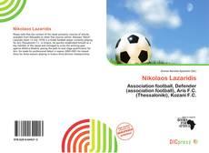 Nikolaos Lazaridis kitap kapağı