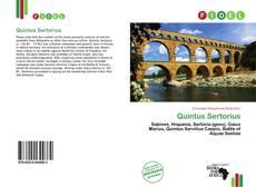 Buchcover von Quintus Sertorius
