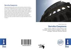 Bookcover of Servilia Caepionis