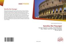 Capa do livro de Servilia the Younger
