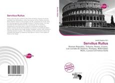 Обложка Servilius Rullus