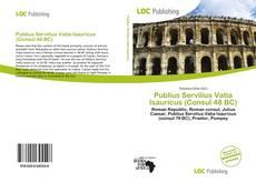 Portada del libro de Publius Servilius Vatia Isauricus (Consul 48 BC)