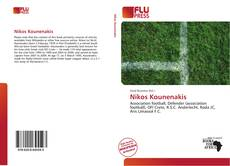 Capa do livro de Nikos Kounenakis