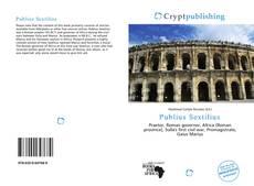Portada del libro de Publius Sextilius