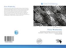 Buchcover von Petra Wimbersky