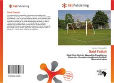 Bookcover of Said Fattah