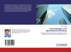 Buchcover von Consolidation and Operational Efficiency