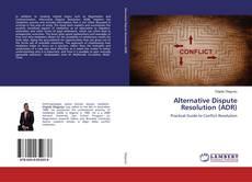 Capa do livro de Alternative Dispute Resolution (ADR)