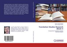 Copertina di Translation Studies Research (Book I)