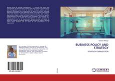 Buchcover von BUSINESS POLICY AND STRATEGY